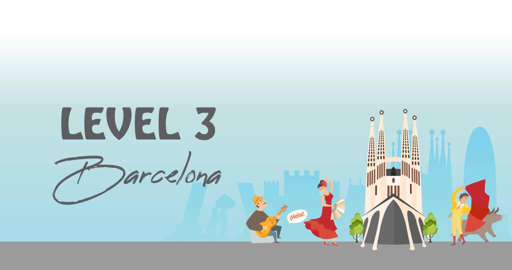 Spanish Level 3 Barcelona