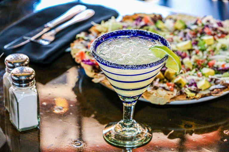 Happy hour Spanish margarita